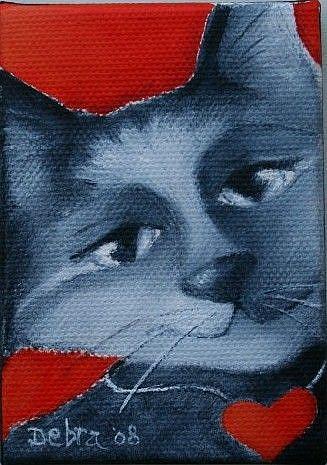 Art: Valentine by Artist Deb Harvey