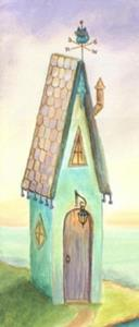 Detail Image for art Fairy Tale House by the Sea