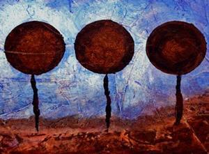 Detail Image for art Chocolate Lollipop Landscape