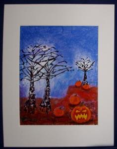 Detail Image for art Evil Pumpkin Patch