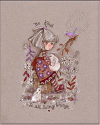 Art: Be Kind by Artist Patricia  Lee Christensen