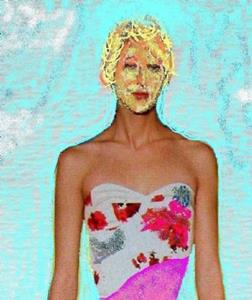 Detail Image for art Attack of the 50 Foot SuperModel