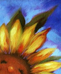 Detail Image for art Keep On The Sunny Side ~ Happy Sunflower