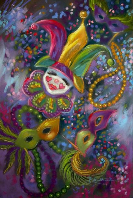 Art: Mardi Gras  ~ SOLD by Artist Patricia  Lee Christensen