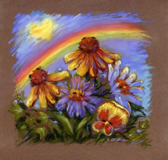 Art: Love Comforteth... ~ Wm. Shakespeare by Artist Patricia  Lee Christensen