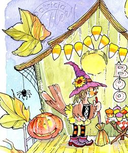 Detail Image for art Ms. Sparrow Has Decorated for a Party