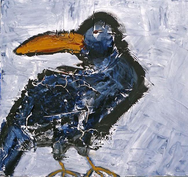 Art: Birdy by Artist Diane G. Casey