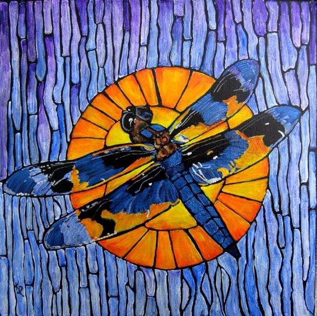 Art: Like Stained Glass by Artist Kathleen Ralph
