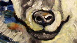 Detail Image for art Arctic Wolf