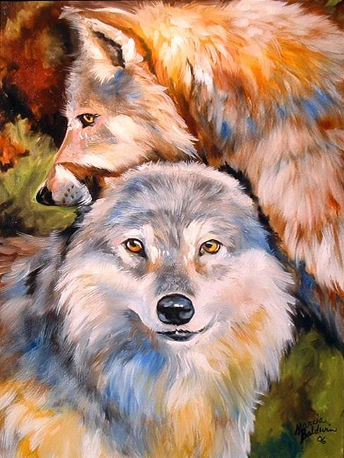 What Kind Of Oil >> WOLF LOVE - by Marcia Baldwin from Wildlife