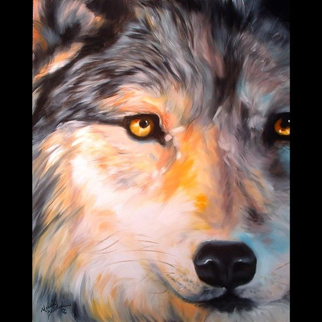 Mystic Wolf By Marcia Baldwin From Wildlife