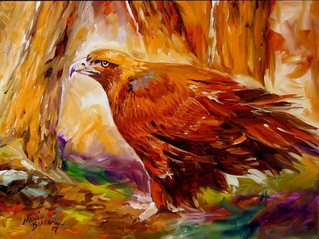 Art: GOLDEN EAGLE by Artist Marcia Baldwin