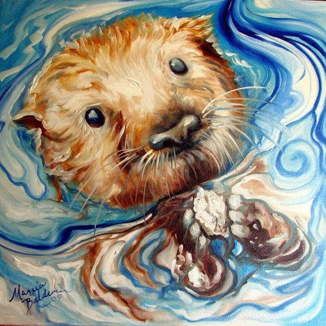 Otter Paintings For Sale