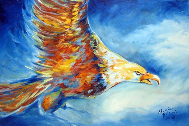 Art: EAGLE by Artist Marcia Baldwin