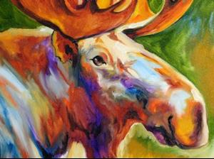 Detail Image for art MOOSE STUDY