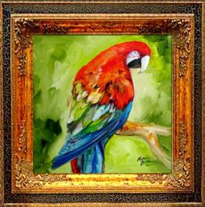 Detail Image for art MACAW TROPICAL