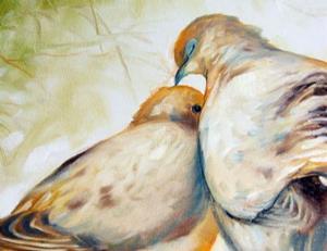 Detail Image for art MORNING DOVES