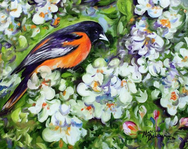 Art: OREOLE by Artist Marcia Baldwin
