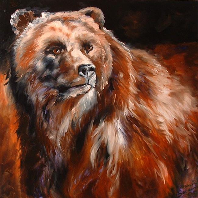 Art: BEAR II by Artist Marcia Baldwin