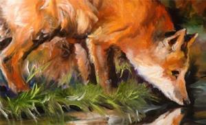 Detail Image for art EVENING FOX