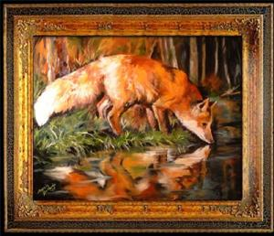 Detail Image for art EVENING FOX