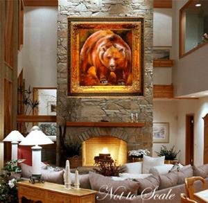 Detail Image for art GRIZZLY BEAR