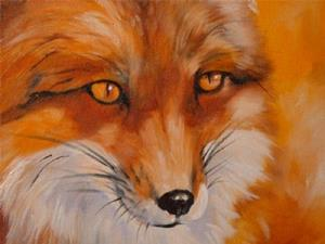 Detail Image for art RED FOX FACE