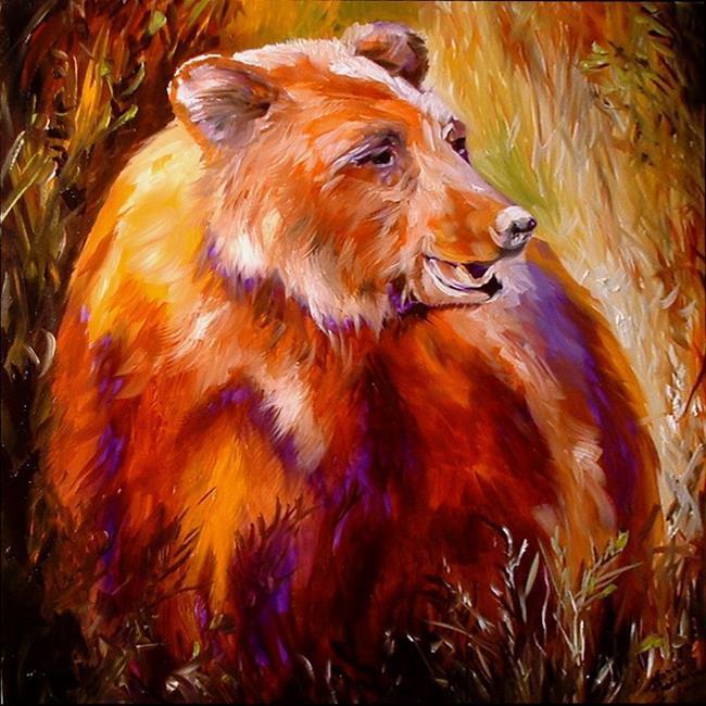 Art: BEAR   by Artist Marcia Baldwin