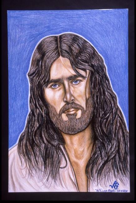 Art: JESUS CHRIST by Artist William Powell Brukner