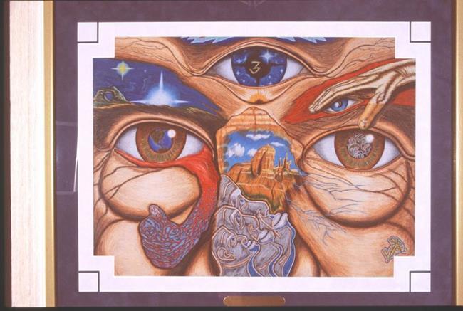 Art: COSMIC-CONSCIOUSNESS by Artist William Powell Brukner