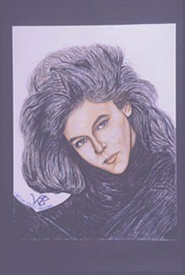Art: ALYSSA MILANO by Artist William Powell Brukner