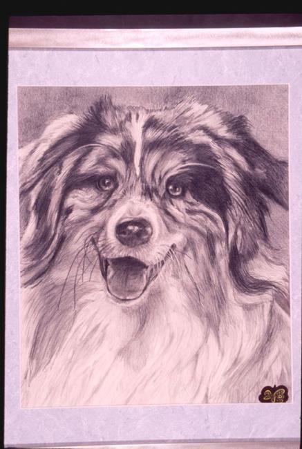 Art: PRETTY DOG by Artist William Powell Brukner
