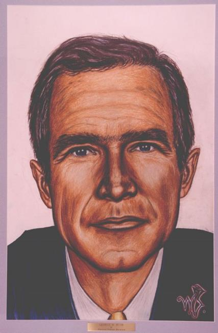 George W Bush By William Powell Brukner From
