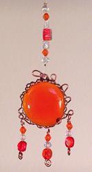 Art: Tangerine Fizz What Knot by Artist Dianne McGhee