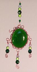 Art: Emerald Elegance by Artist Dianne McGhee