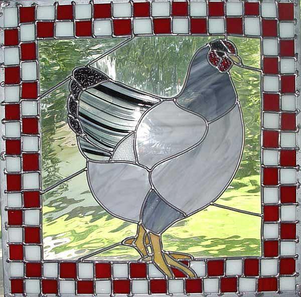 Art: Mary & Gary's Hen by Artist Dawn Lee Thompson