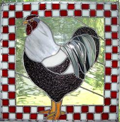 Art: Mary & Gary's Rooster by Artist Dawn Lee Thompson