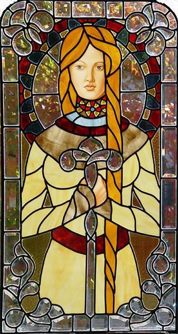 Art: Ariadne's Sceptre by Artist Dawn Lee Thompson
