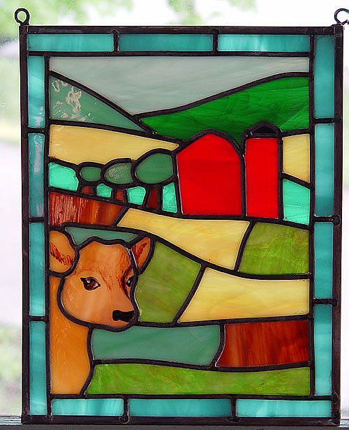 Art: Iowa: Spring Landscape by Artist Dawn Lee Thompson
