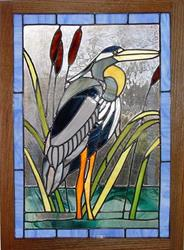 Art: Great Blue Heron by Artist Dawn Lee Thompson