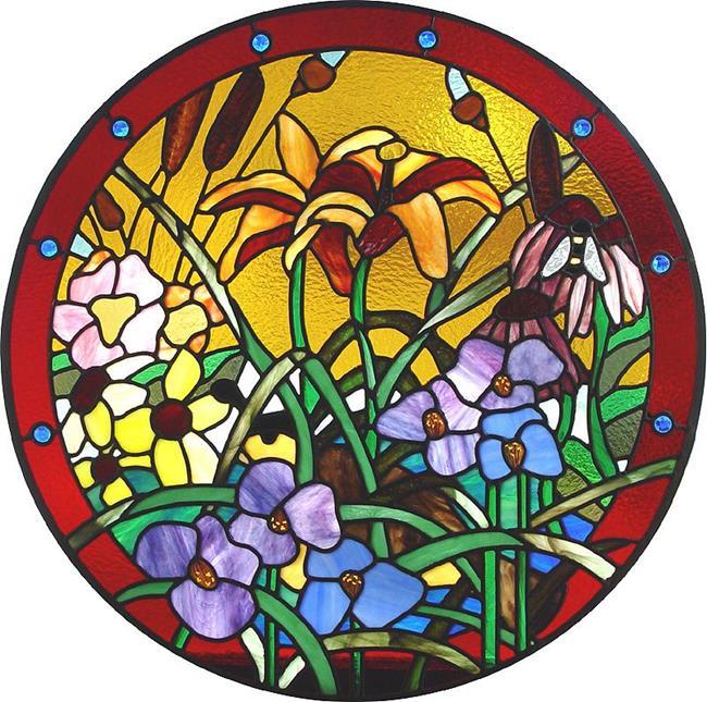 Art: Prairie Flowers by Artist Dawn Lee Thompson