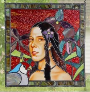 Detail Image for art Polynesian Self Portrait