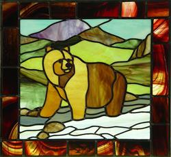 Art: Rockies: Grizzly Bear by Artist Dawn Lee Thompson