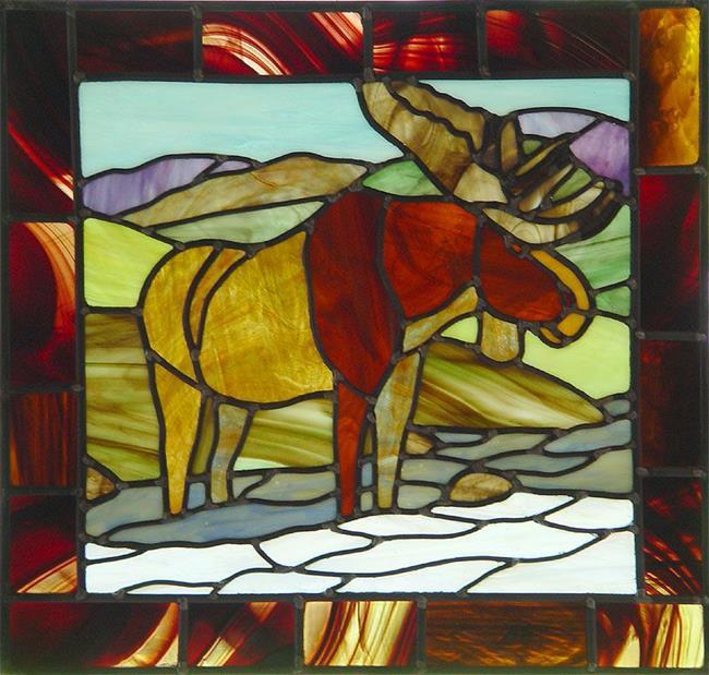 Art: Rockies: Moose by Artist Dawn Lee Thompson
