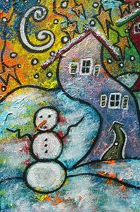 Detail Image for art Wonderfully Wacky Winter
