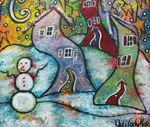 Detail Image for art Wonderfully Wacky Winter