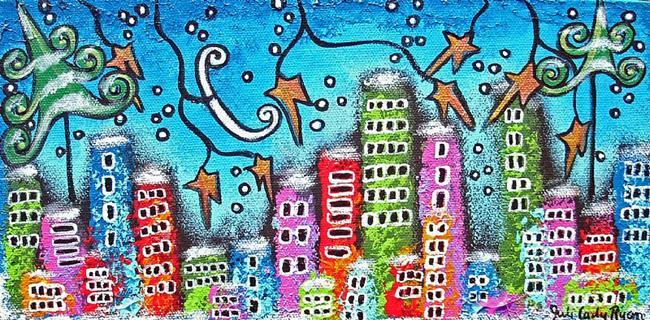Art: Winter In The City by Artist Juli Cady Ryan