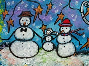 Detail Image for art The Snow Family