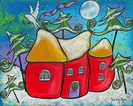 Art: Winter Peace by Artist Juli Cady Ryan