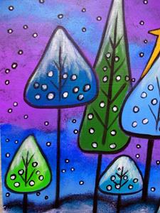 Detail Image for art Winter Celebration III